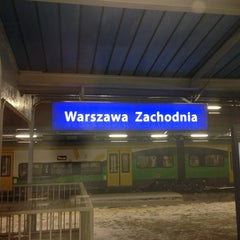 Photo taken at Warszawa Zachodnia by Marco on 2/22/2013