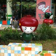 Photo taken at 딸기가 좋아 - 딸기 스페이스 by 선주 on 9/16/2012