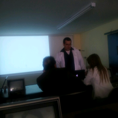 Photo taken at Fundacion Universitaria CIEO | UniCIEO by Daniel Z. on 4/19/2013