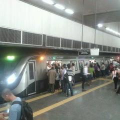 Photo taken at MetrôRio - Estação Central by Sebastian N. on 3/20/2013