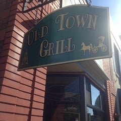 Photo taken at Old Town Grill by Brian T. on 4/28/2014
