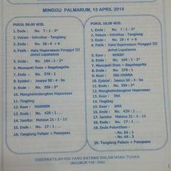 Photo taken at HKBP Perumnas 2 Bekasi by Has N. on 4/13/2014
