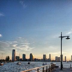 Photo taken at Pier 25 — Hudson River Park by Justin S. on 6/16/2013