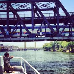 Photo taken at I Street Bridge by Jennifer T. on 7/20/2013
