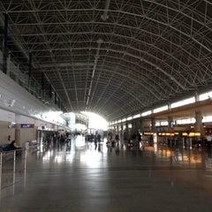 Photo taken at Aeropuerto de Fuerteventura (FUE) by Bastian B. on 11/15/2012