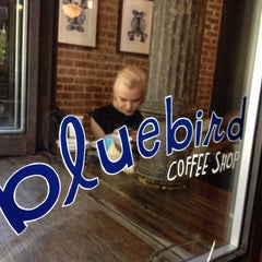 Photo taken at Bluebird Coffee Shop by Bastian B. on 5/4/2013