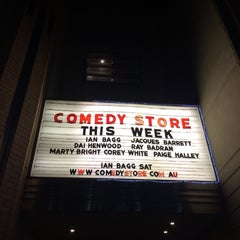 Photo taken at The Comedy Store by Dai on 9/26/2014