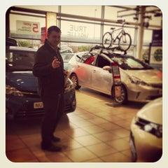 Photo taken at Toyota World by Matt S. on 3/16/2013