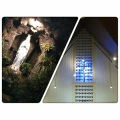 Photo taken at Gereja St. Ignatius Loyola by Dian E. on 9/2/2014