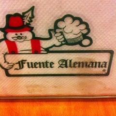 Photo taken at Fuente Alemana by Constanza Belén on 11/28/2012