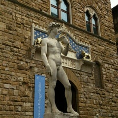 Photo taken at Piazza della Signoria by Evgenia I. on 4/26/2013