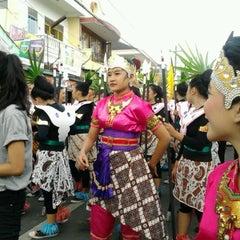 Photo taken at SMKN 1 Yogyakarta by Wuri Z. on 10/18/2012