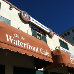 Photo taken at On the Waterfront Cafe by Erin on 2/24/2013