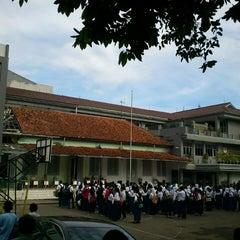 Photo taken at SMP Negeri 1 Bogor by hartanto on 6/1/2013