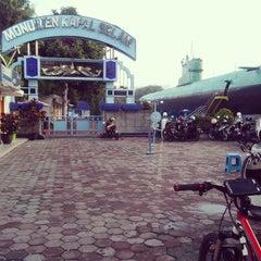 Photo taken at Monumen Kapal Selam by Sofian K. on 2/15/2015