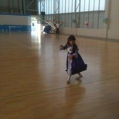 Photo taken at Sportski Centar Igalo by Indigo D. on 6/1/2013