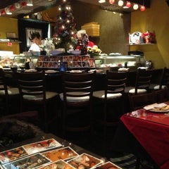 Photo taken at Kiku Sushi by Dima on 12/26/2012