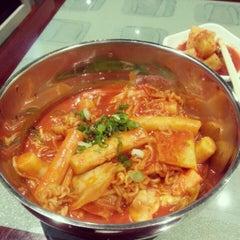 Photo taken at Kim Ga Nae by Monica on 2/6/2013