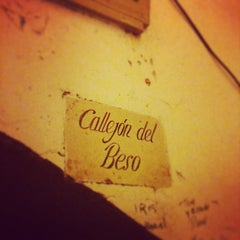 Photo taken at Callejón del Beso by Hugo on 2/21/2013