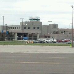 Photo taken at Capital Region International Airport (LAN) by Brandon C. on 11/3/2012