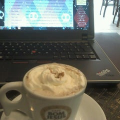 Photo taken at D'Café Cafeteria by Gabriella S. on 1/14/2013