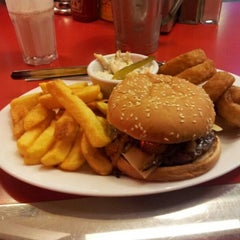 Photo taken at Ed's Easy Diner by Scott H. on 1/9/2013