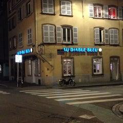 Photo taken at Au Diable Bleu by Denis on 2/23/2014