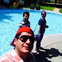 Photo taken at Balneario la Cruz by Ben on 10/16/2014