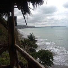 Photo taken at El acantilado by Andres R. on 12/30/2013