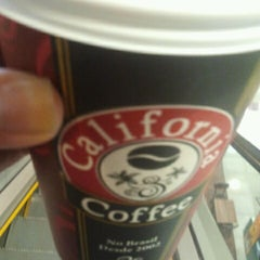 Photo taken at California Coffee by Adriana F. on 6/28/2012