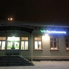 Photo taken at VR Joensuu by Elif S. on 12/28/2012