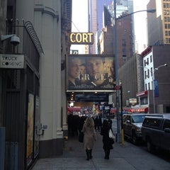 Photo taken at Cort Theatre by Merez L. on 1/6/2013