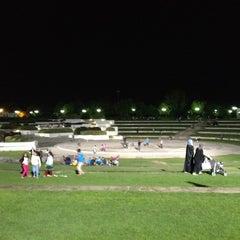 Photo taken at Al Mamzar Park (حديقة الممزر) by Ali A. on 12/21/2012