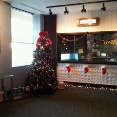 Photo taken at More FM Studios (WBEB-FM) by Robin J. on 11/26/2012