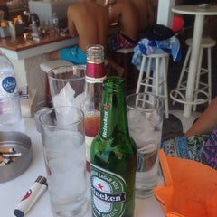 Photo taken at Almyra Beach Bar by Михаела П. on 8/16/2014