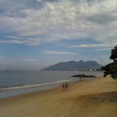 Photo taken at Praia Do Cemitério by Andrea on 10/23/2012