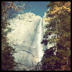 Photo taken at Lower Yosemite Falls by Xochitl Elizabeth on 11/30/2012