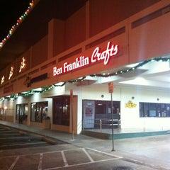 Photo taken at Ben Franklin Crafts by Greg on 11/30/2012