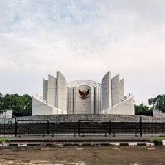 Photo taken at Monumen Perjuangan Rakyat Jawa Barat by Muhammad Ridho F. on 1/21/2016