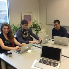 Photo taken at Computer Science Lounge - Columbia University by Willem B. on 2/24/2013