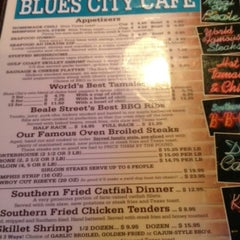 Photo taken at Blues City Cafe by Tan N. on 10/5/2012