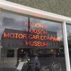 Photo taken at Miller Motors Hudson Auto Museum by Adam B. on 9/21/2014