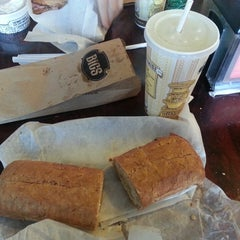Photo taken at Potbelly Sandwich Shop by Taylor R. on 11/29/2013