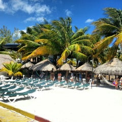 Photo taken at Isla Mujeres by Luisin A. on 3/6/2013