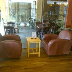 Photo taken at Caribou Coffee by Omar on 10/17/2012