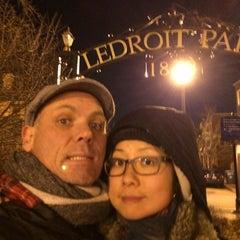 Photo taken at Ledroit Park Gate by Bruce B. on 2/8/2014