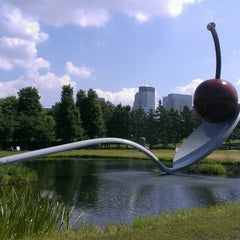 Photo taken at Minneapolis Sculpture Garden by April on 7/15/2013