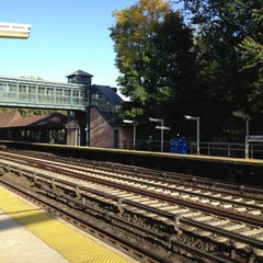 Photo taken at Metro North - Botanical Garden Train Station by Libby on 10/20/2012
