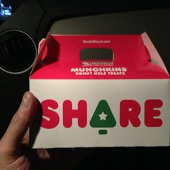 Photo taken at Dunkin Donuts by Damian D. on 12/21/2012