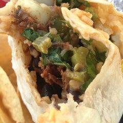 Photo taken at Baja Burrito by Eddie on 1/8/2013